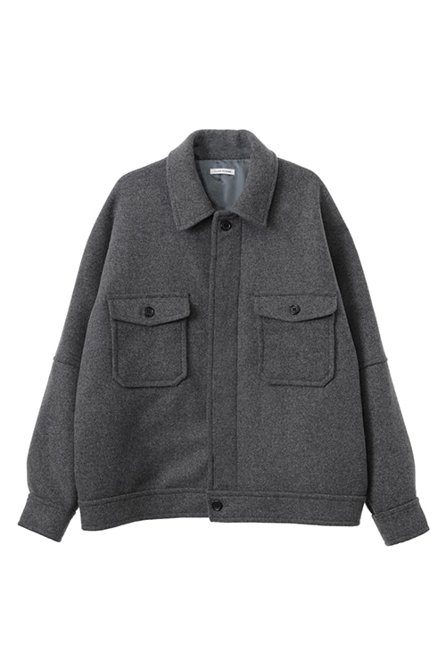 OVER SIZE WOOL JACKET