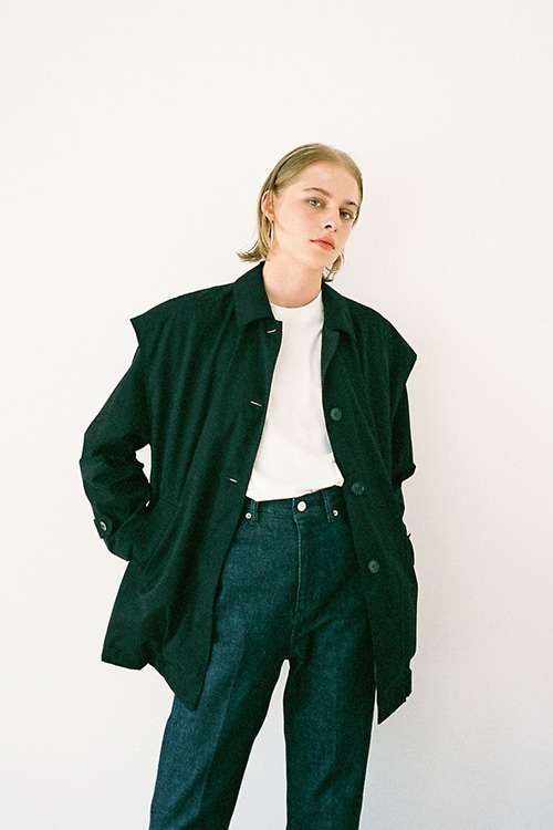 LAYERED SWINGTOP BLOUSON