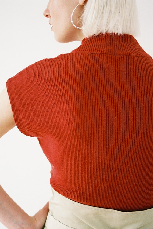 FRENCH SLEEVE KNIT TOPS