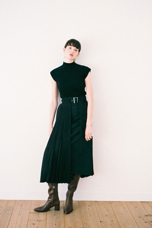 3WAY MILITARY PLEAT SKIRT