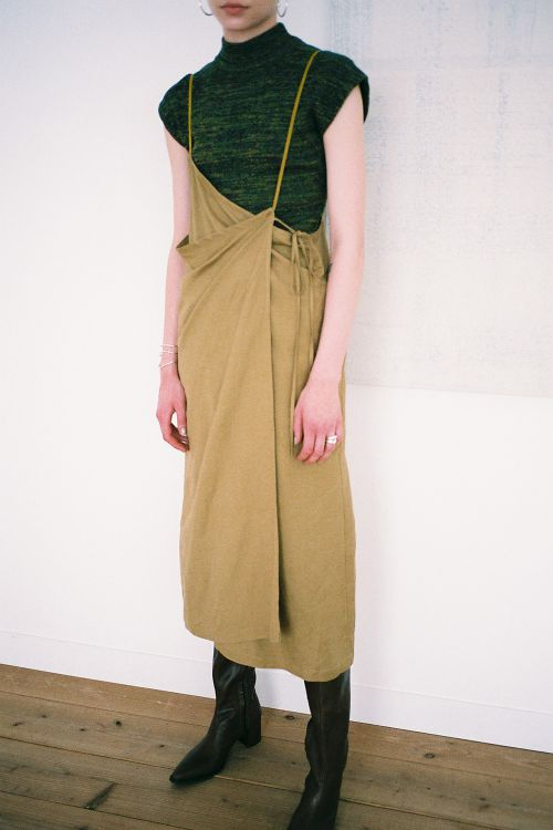 STRAP DEFORM SKIRT