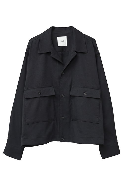 STAND FALL COLLAR JACKET