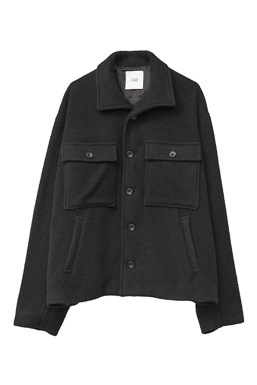 WOOL BAL COLLAR JACKET