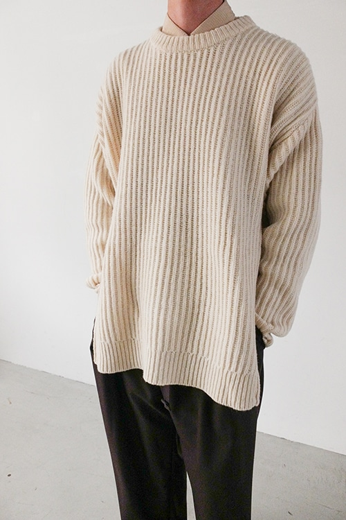 ZIP KNIT TOPS