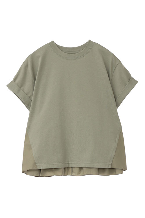 BACK FRILL T/S