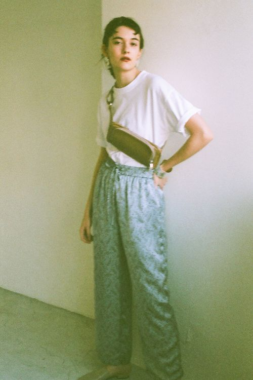 PETIT FLOWER WIDE PANTS