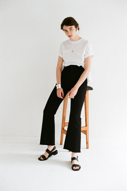 H/W COLOR BELL BOTTOM P/T