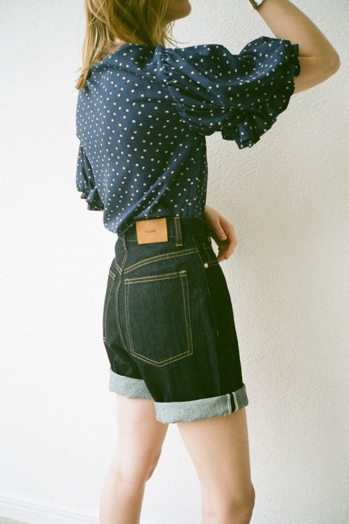 H/W LOOSE SHORT PANTS