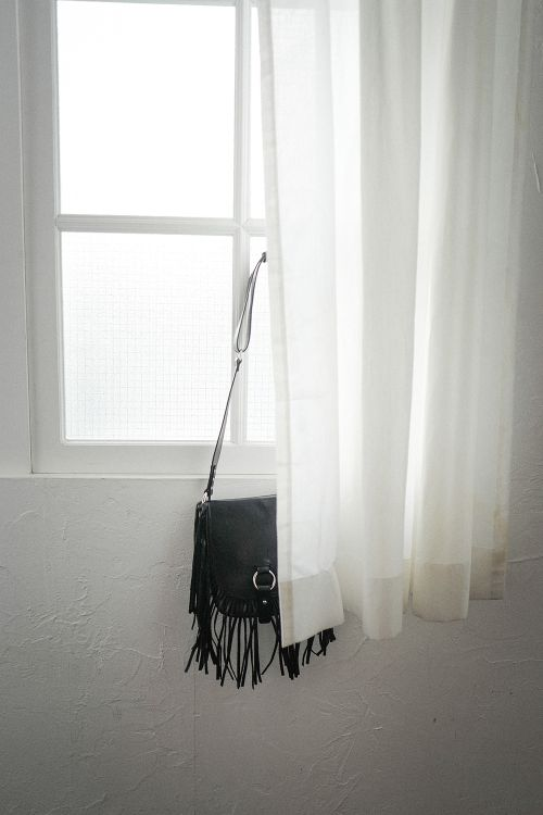 FRINGE MINI SHOULDER BAG