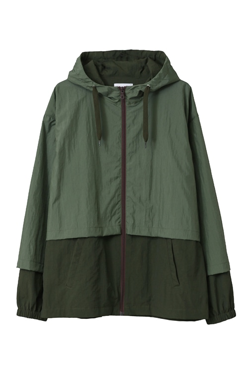 NYLON LAYERED JACKET
