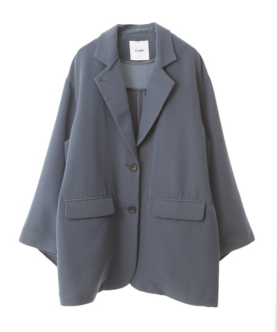 BACK FRILL TAILORED  JACKET