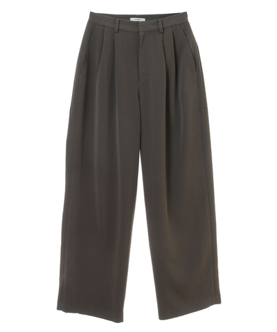 HERRINGBONE 2TUCK PANTS