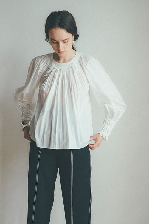 BALLOON PLEAT TOPS