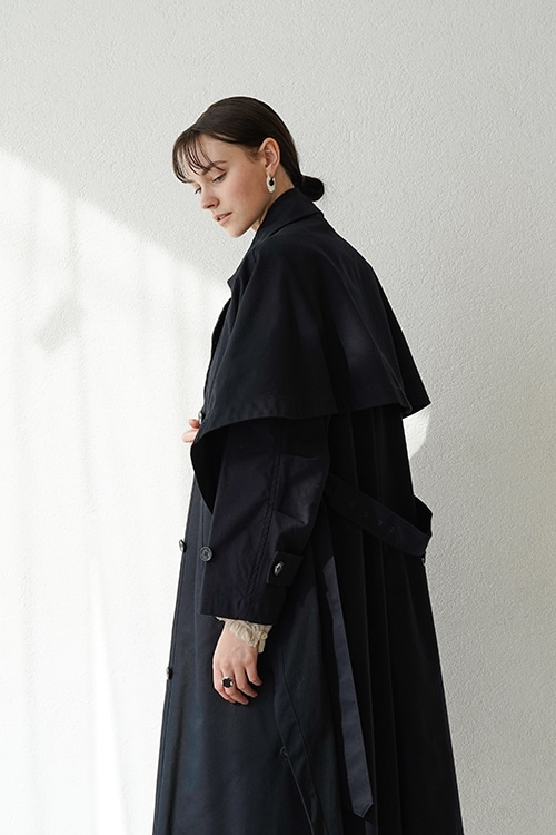 2WAY LAYER TRENCH COAT