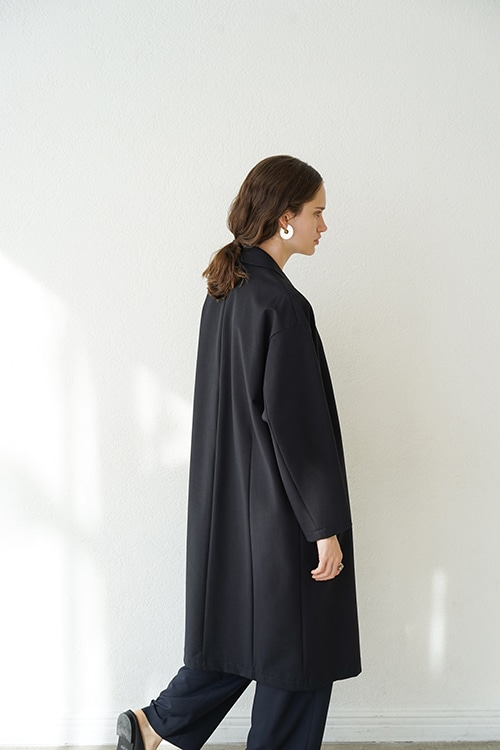 DOUBLE CLOTH CHESTER COAT