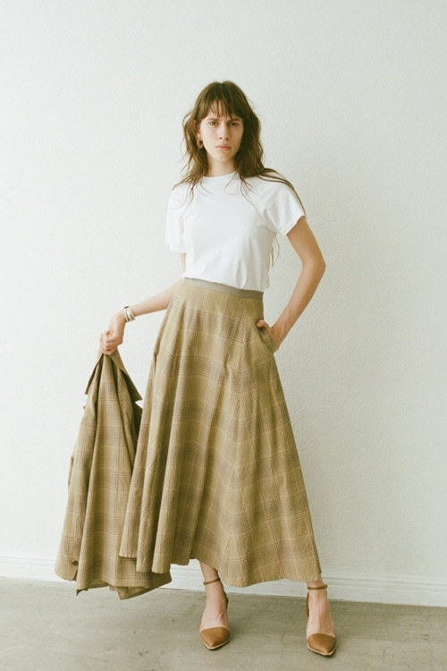 CLASSIC FLARE LONG SKIRT