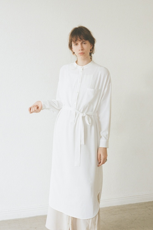 BASIC LOOSE SHIRT ONE PIECE
