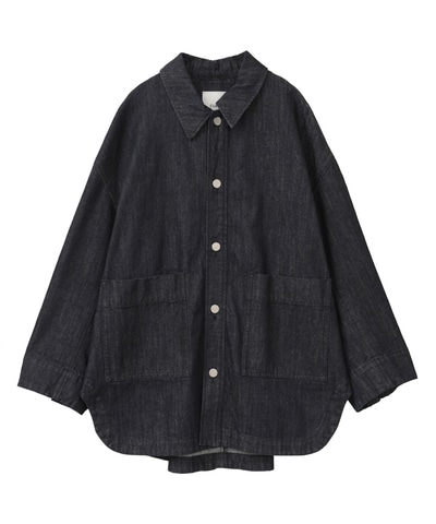 BACK SQUEEZE DENIM JACKET